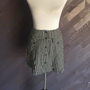 Vintage Houndstooth Mini Skirt 🖤🖤🖤